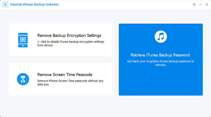 retrieve itunes backup password