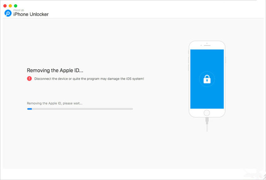 removing apple id on mac