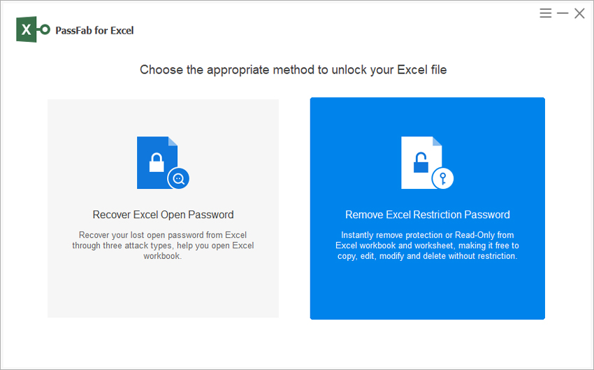 remove excel restriction password