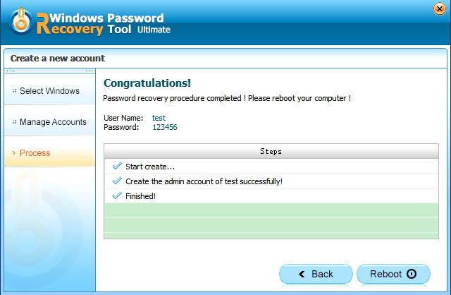 Create a New Windows Admin